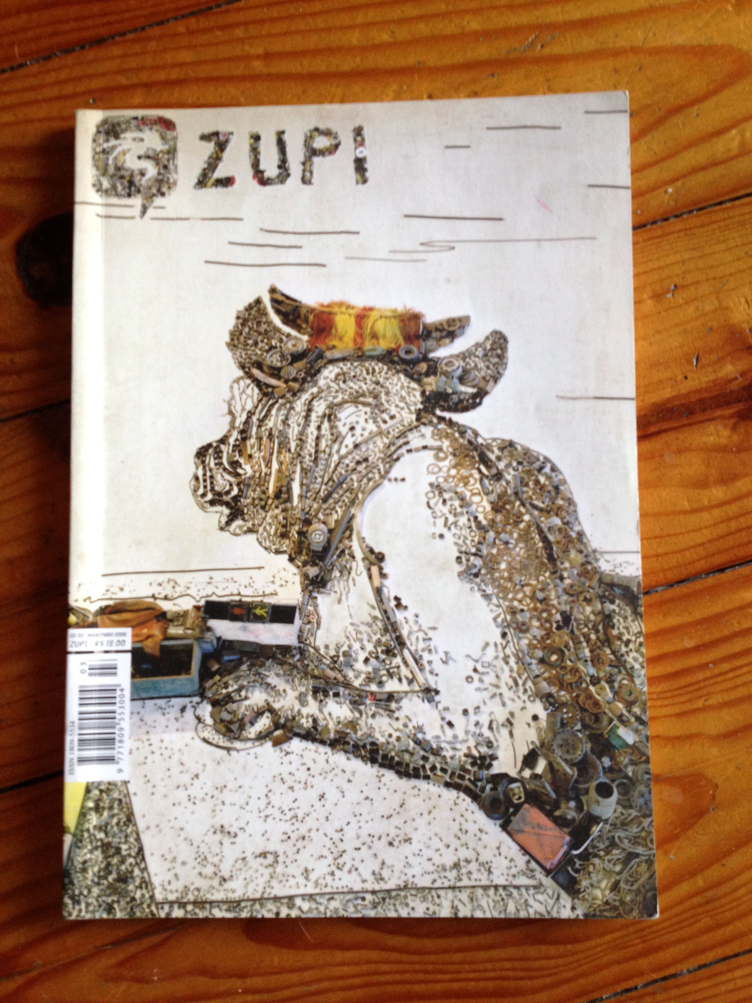 Zupi_cover_by_Vik Muniz