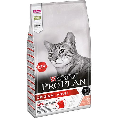 """פרו פלאן לחתול בוגר בטעם סלמון 3 ק""""ג"""