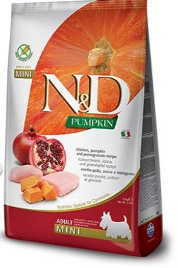 """N&D PUMPKIN – מזון לכלב בוגר – עוף, דלעת ורימון 12 ק""""ג גזע גדול"""