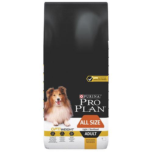"""פרו פלאן לשמירה על משקל תקין בכלבים בוגרים 14 ק""""ג"""