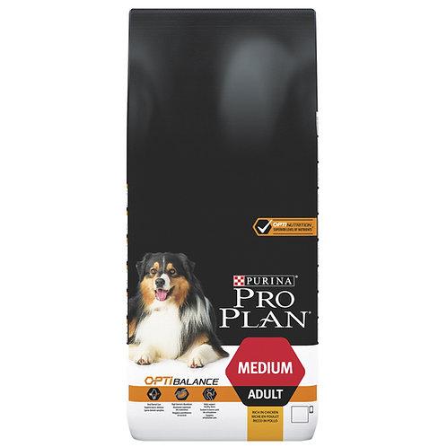 """פרו פלאן לכלבים בוגרים מגזע בינוני 14 ק""""ג"""