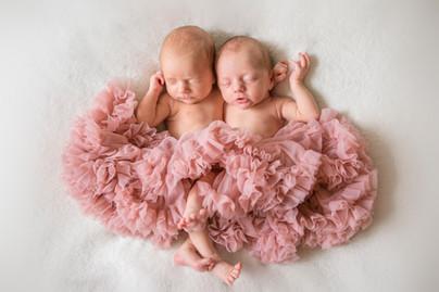 Rachel og Hermine | Nyfødtfotografering