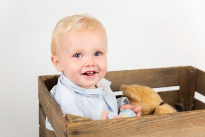 William | 1-års fotografering | Hjertelig foto