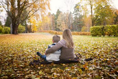 Familiefotografering | Søndre Park | Hjertelig foto