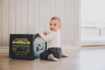 Arthur 1 år | Hjemmefotografering