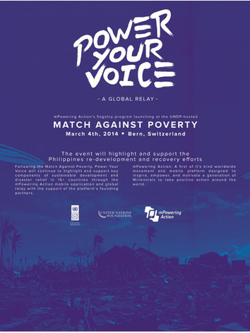 mPowering Action Power Your Voice Launch in Switzerland