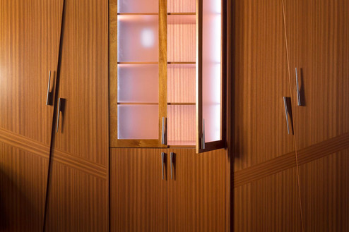 Kitchen closets, custom work by Wood Products Unlimited