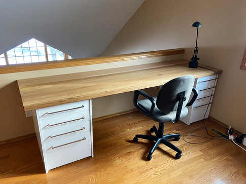 Millwork desk for residential by Wood Products Unlimited