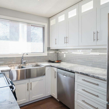 Custom kitchen designed, built & insalled by Wood Products Unlimited