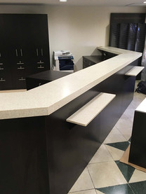 Millwork for commercial setting by Wood Products Unlimited