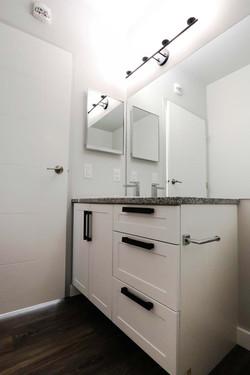 Custom bathroom & vanity by Wood Products Unlimitedx