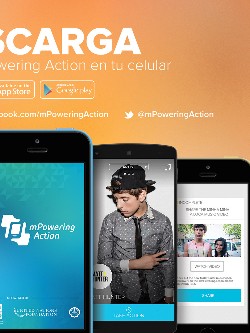 Latin American mPowering Action App Launch