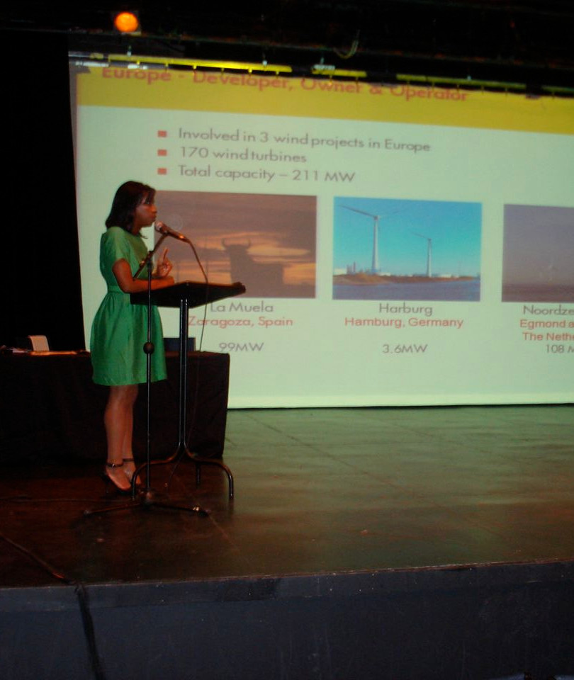 Speaking on Wind Energy in New Orleans, LA