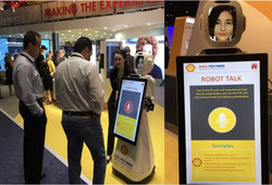 Shell Polymers Brand Launch at NPE 2018 with Robots