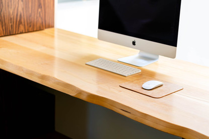 Millwork desk by Wood Products Unlimited