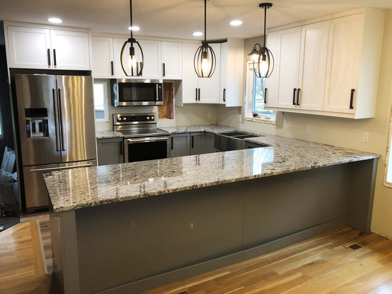 Custom kitchen overview by Wood Products Unlimited