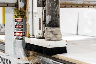 CNC closeup, plant-Wood Products Unlimited