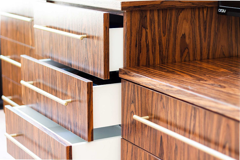 Custom millwork by Wood products Unlimited, Inc.