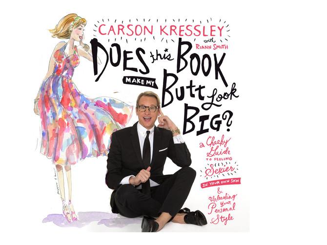 Illustrations for Carson Kressley's New Book.