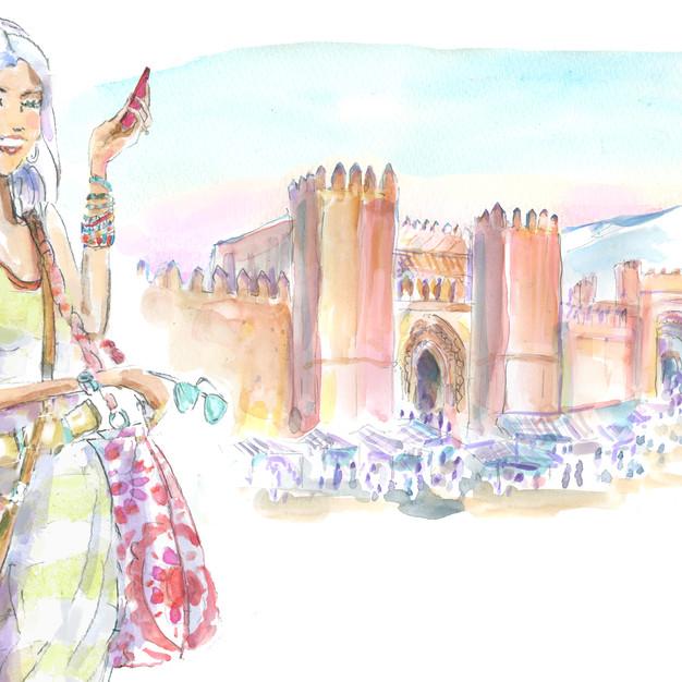 Marrakech Kasbah Day
