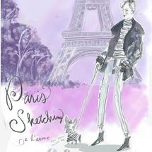 Paris sketching
