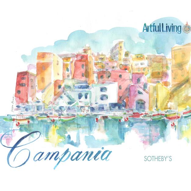 Campania Awash with Color