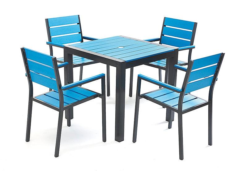 Venice Blue Table & Chair Set
