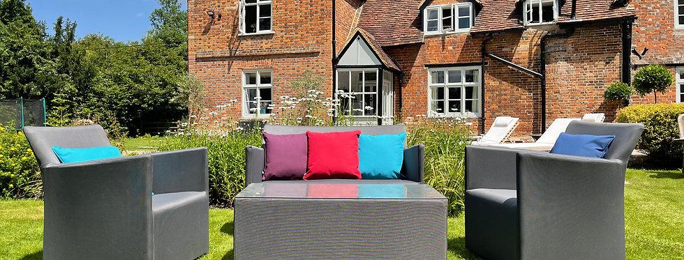 Slate Grey Sofa Set