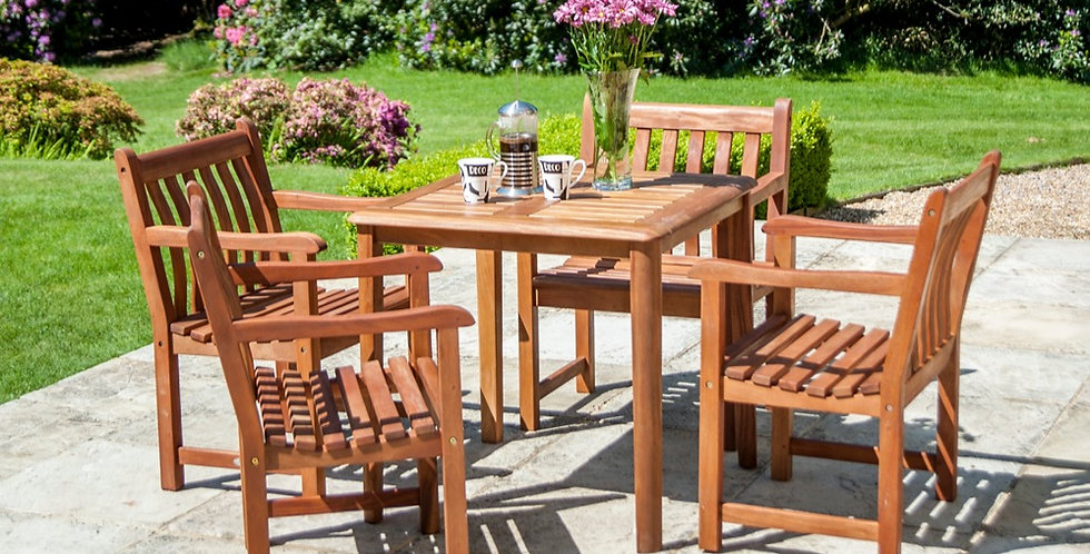 Broadfield Table & Arm Chair Set