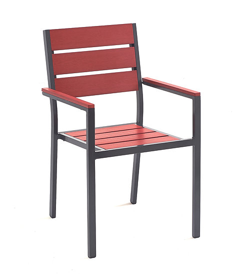 Red Venice Arm Chair