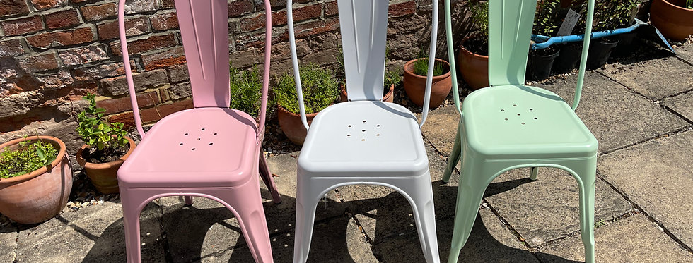 Lisbon Metal Side Chair