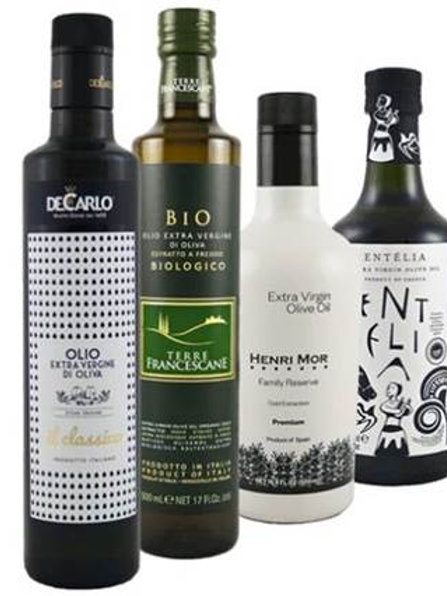 Extra Virgin Olive Oil Bottle Collection