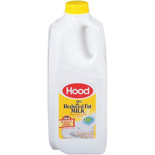 Hood 2% Reduced Fat Milk 1/2 Gallon