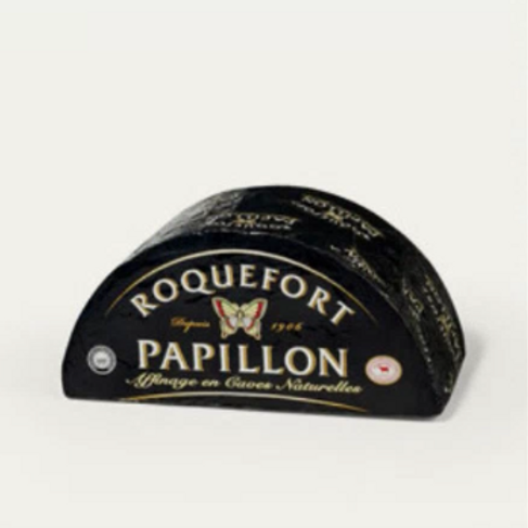 Fromageries Papillon Roquefort Black Label Cheese