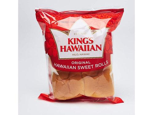 Kings Hawaiian Rolls Hawaiian Sweet 4 Count - 4.4 Oz
