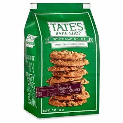 Tates Bake Shop Cookies Oatmeal Raisin