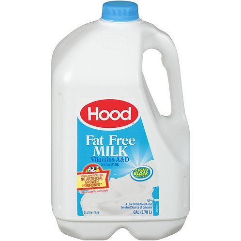 Hood Fat Free Milk  1 Gallon