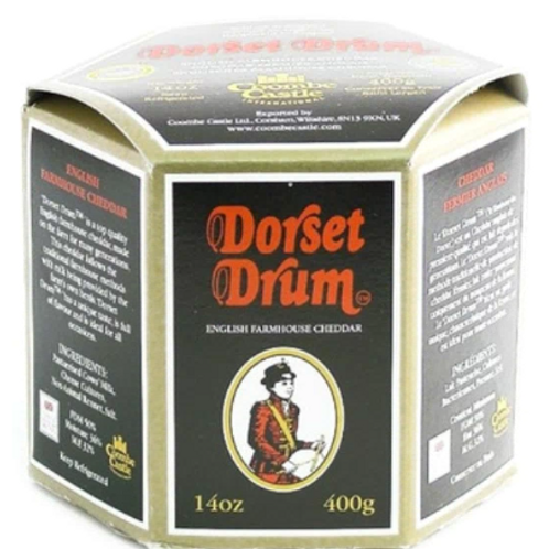 Coombe Castle Dorset Drum English Farmhouse Cheddar Cheese
