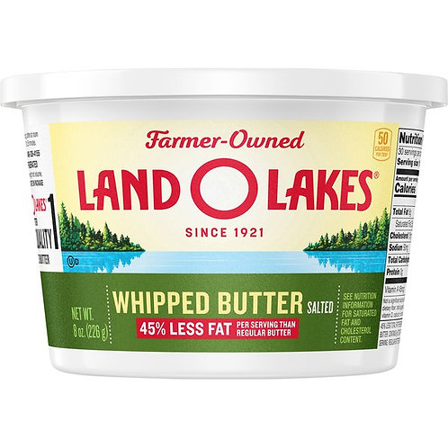 Land O Lakes Whipped Butter, Salted