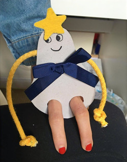 Pear Shaped Puppet