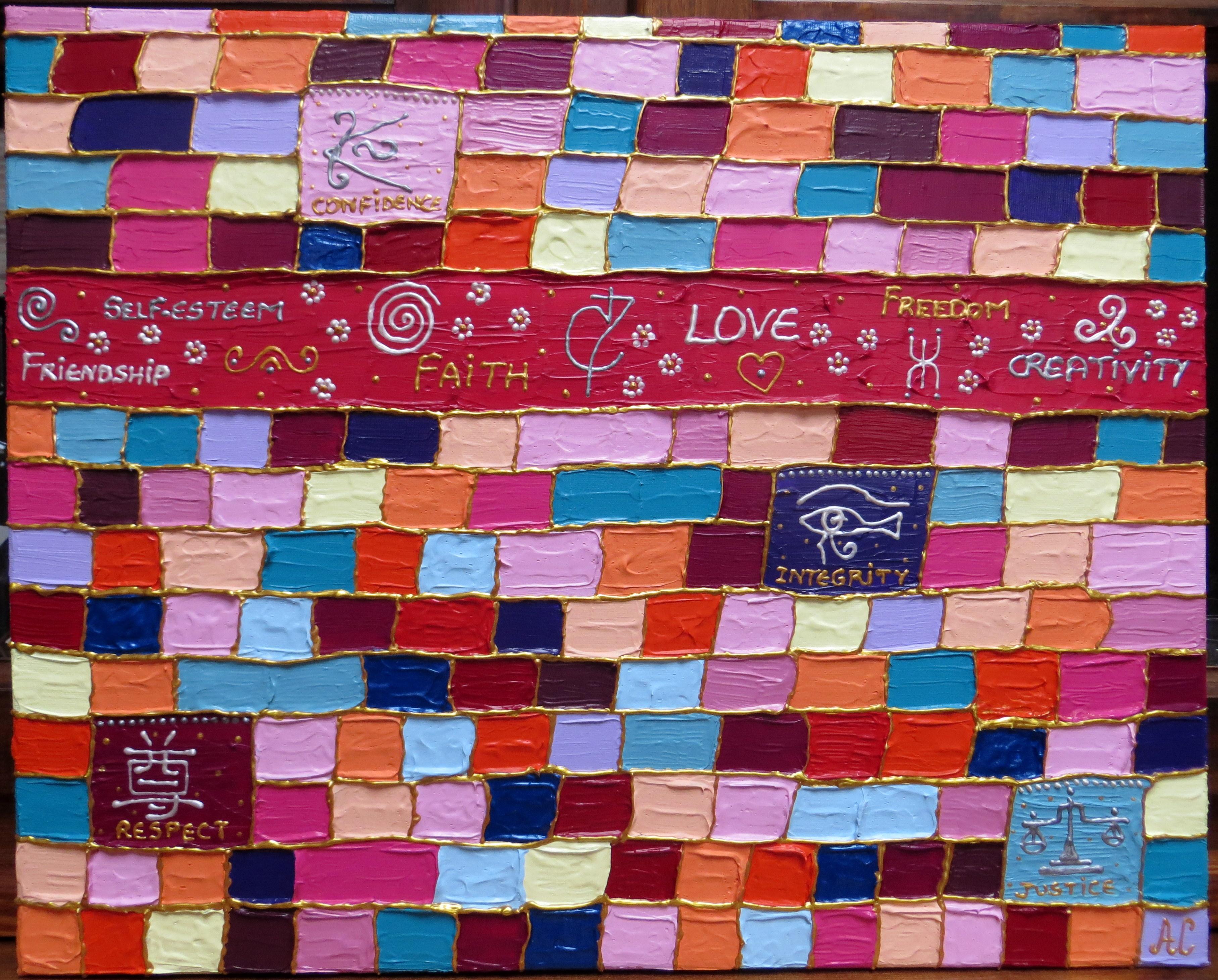 Le Mur des mes Valeurs