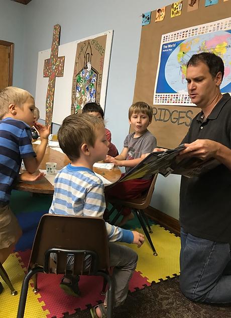 Kids in Sunday School Grow Class