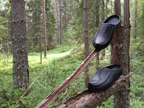Musta pistokas Tärnsjön nahasta