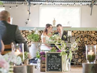 Tim and Christina Real Wedding