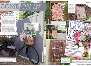 Wedding Flowers & Accessories Magazine Sept-Oct Feature 2017