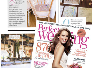 Perfect Wedding Magazine November Feature 2017