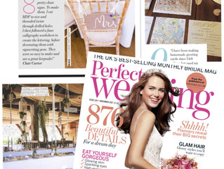 Perfect Wedding Magazine November Feature 2017