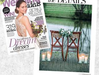 Wedding Ideas Magazine July 2017 Feature