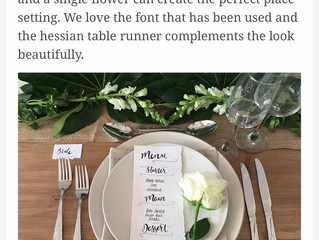 Hitched.co.uk Table Settings Feature