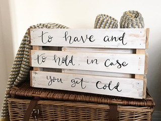 DIY Crate Upcycle
